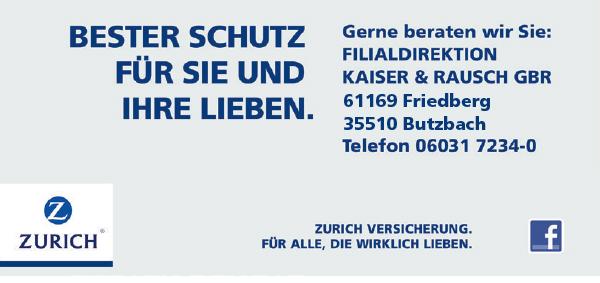 Zurich Filialdirektion kaiser & Rausch GbR Friedberg
