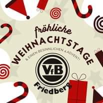 """Bild könnte enthalten: Text """"fröhliche WEIHNACHTS & BESINNLICHEN 4.ADVENT! GE EINEN ១ VB Friedberg"""""""