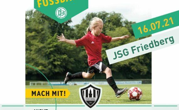 """""""Tag des Mädchenfußballs""""  Am Freitag ist es soweit! Nach dem Motto """"Nicht ohne ..."""