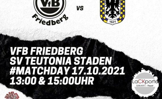 HEIMSPIEL - Am morgigen Sonntag geht es zuhause für unsere 1a gegen den SV Teuto...
